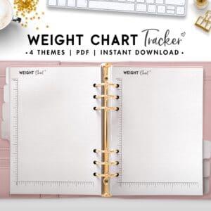 weight chart tracker - soft