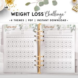weight loss challenge - botanical