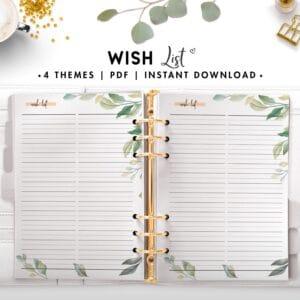 wish list - botanical