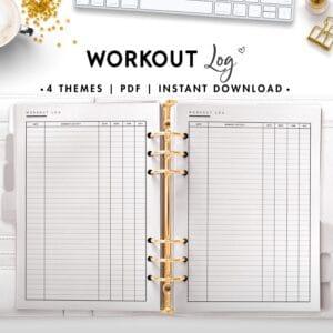 workout log - classic