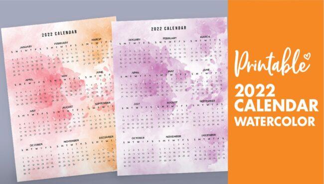 2022 printable calendar one page - calendar 2022