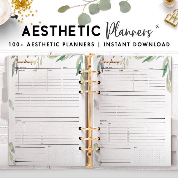 aesthetic planner