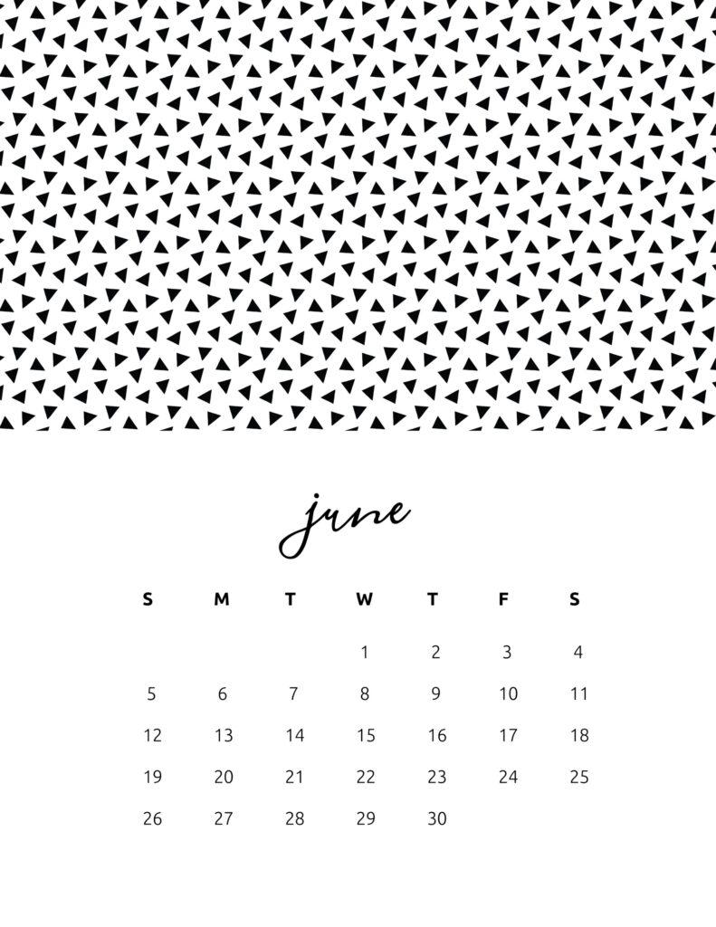 free calendar 2022 - june