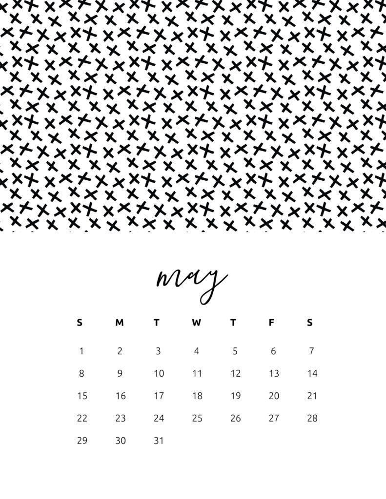 free calendar 2022 - may