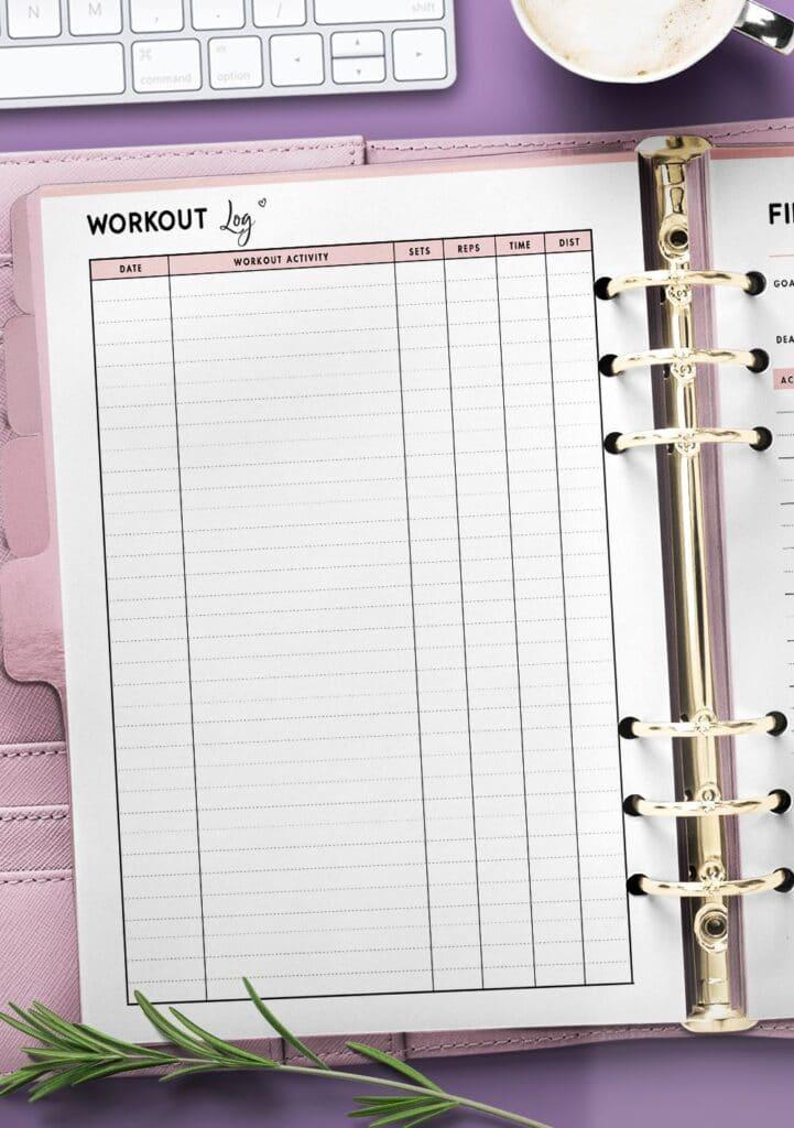 free workout templates