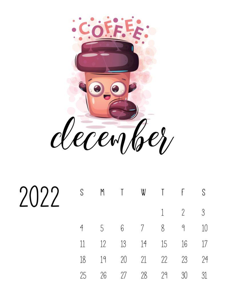 funny calendar 2022 - december