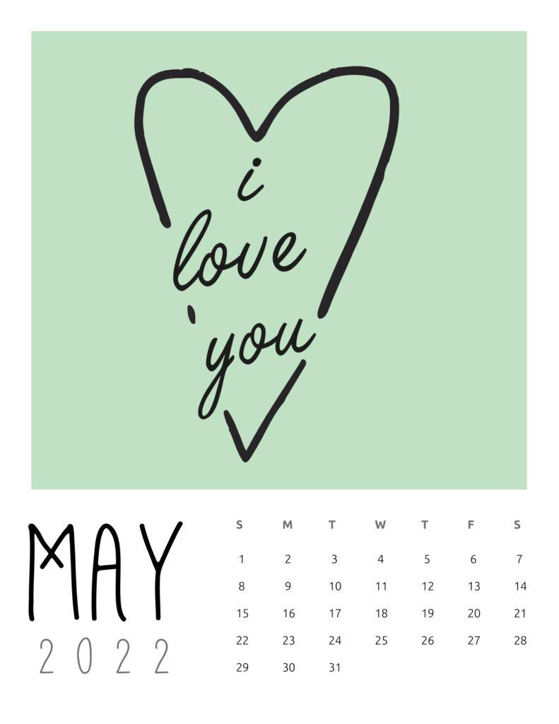 inspirational quotes calendar 2022 - may