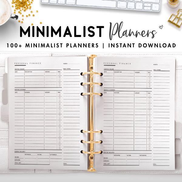 minimalist planner