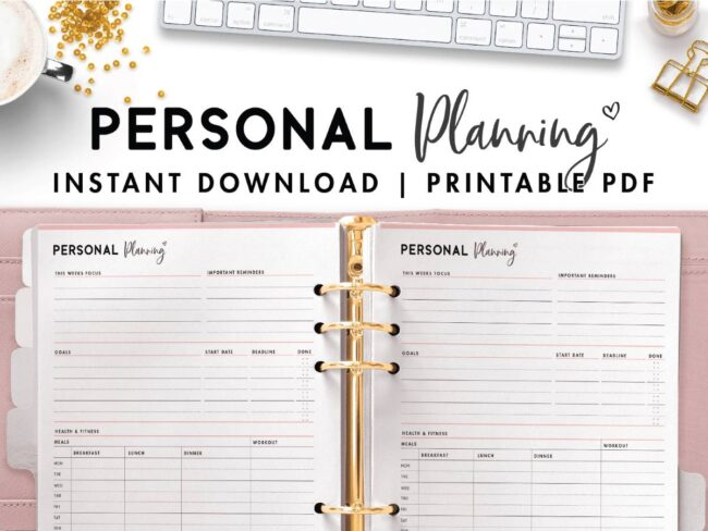 personal growth plan template