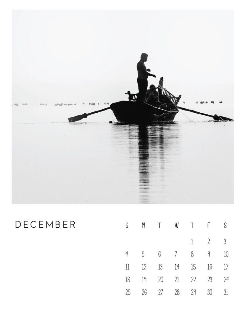 photo calendar 2022 - December