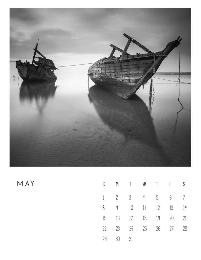photo calendar 2022 - may