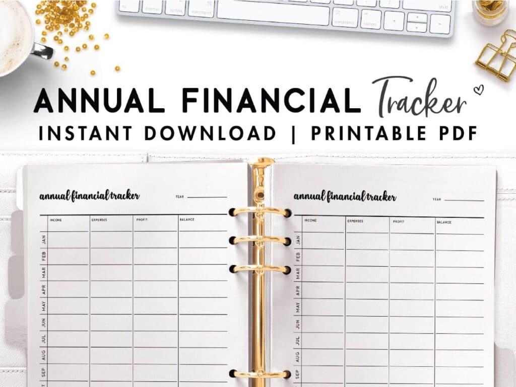 printable business budget template