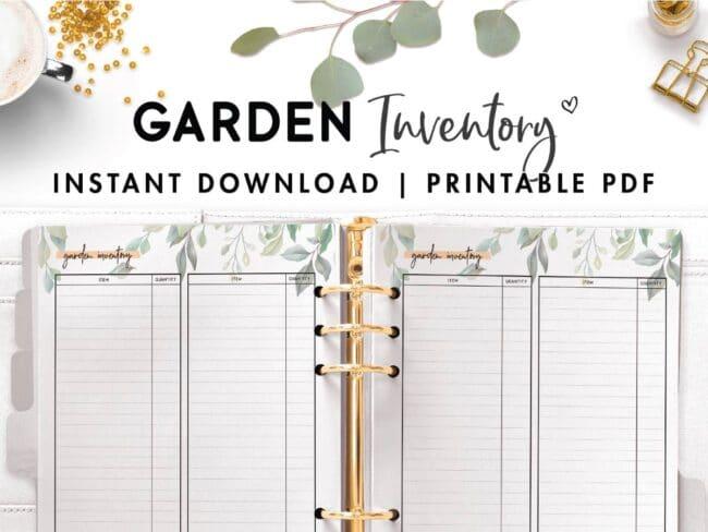 garden inventory