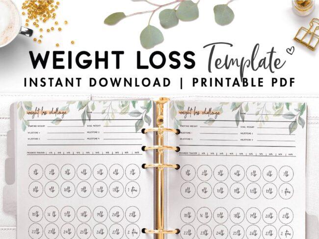 weight loss challenge ideas