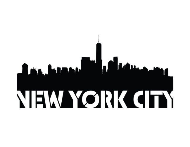 Free Printable New York City Stencil Wall Art Print