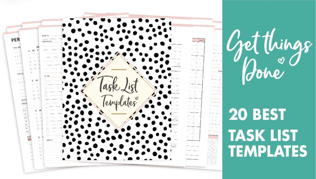 get things done with task list templates