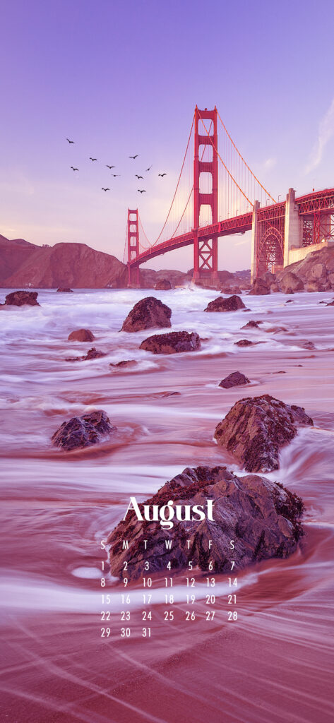 August 2021 wallpaper calendars – Download free July phone background wallpaper