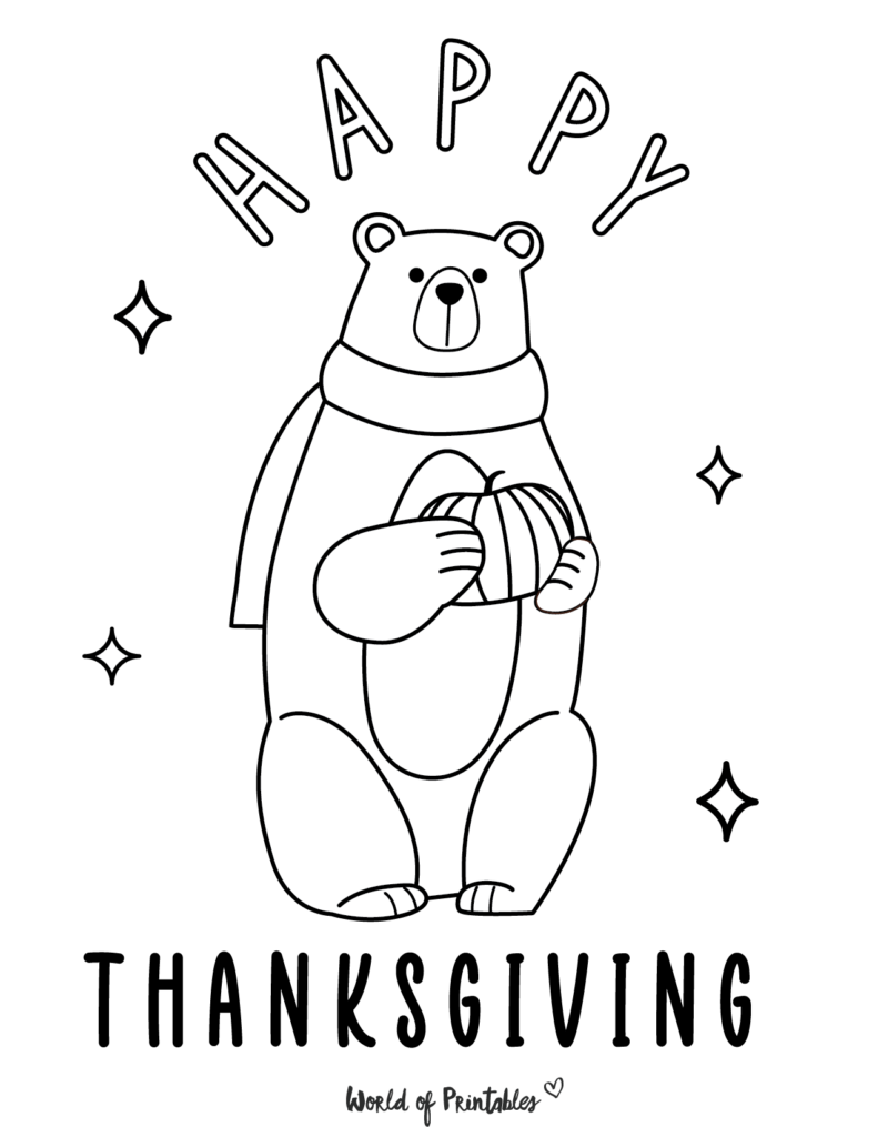 Fall Coloring Pages 13