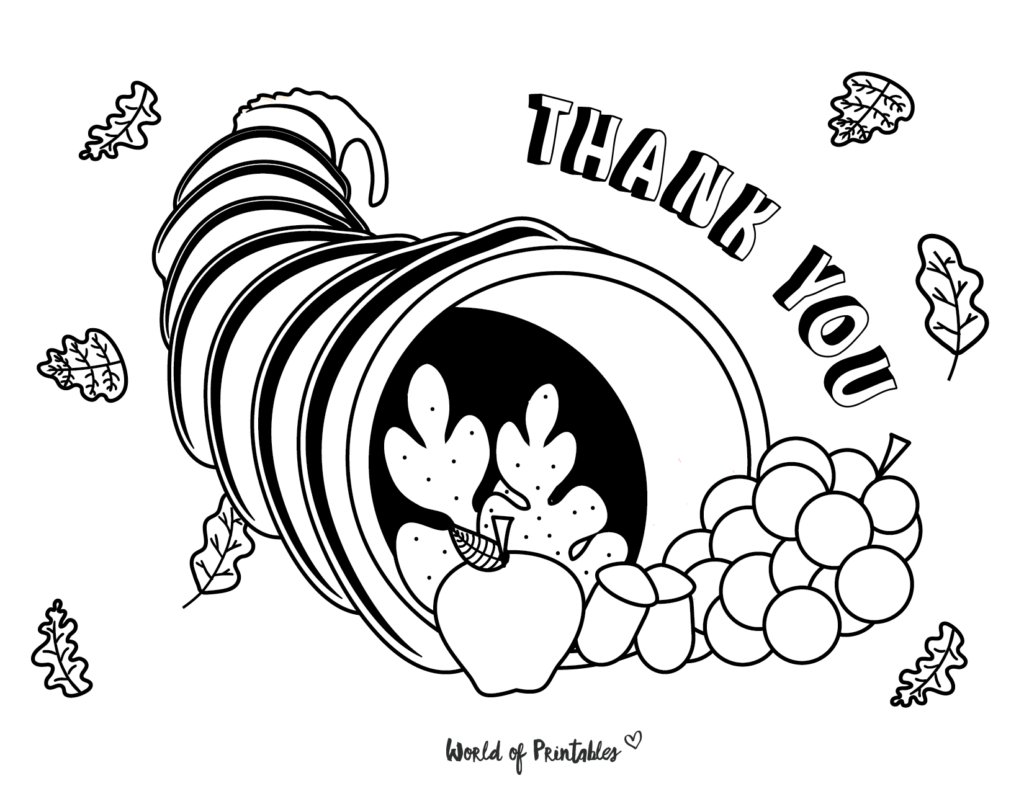 Fall Coloring Pages 15