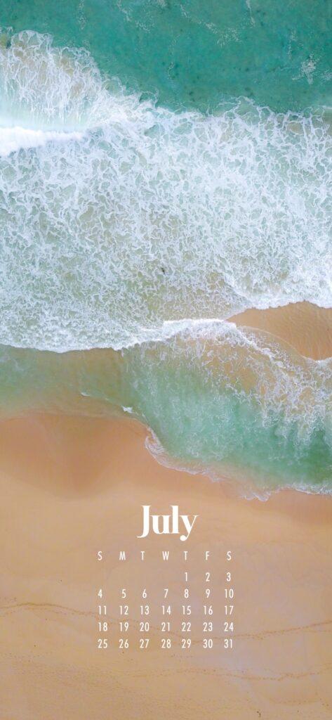 July 2021 wallpaper calendars – Download free July phone background wallpaper