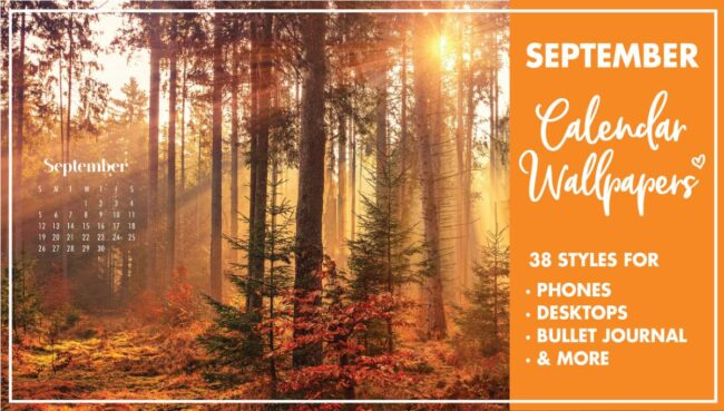 September Calendar Wallpaper Backgrounds
