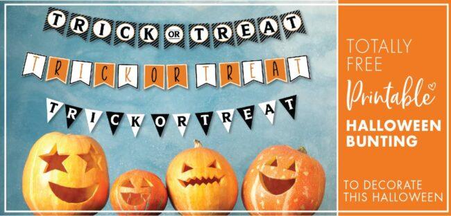 Best Halloween Bunting Printable