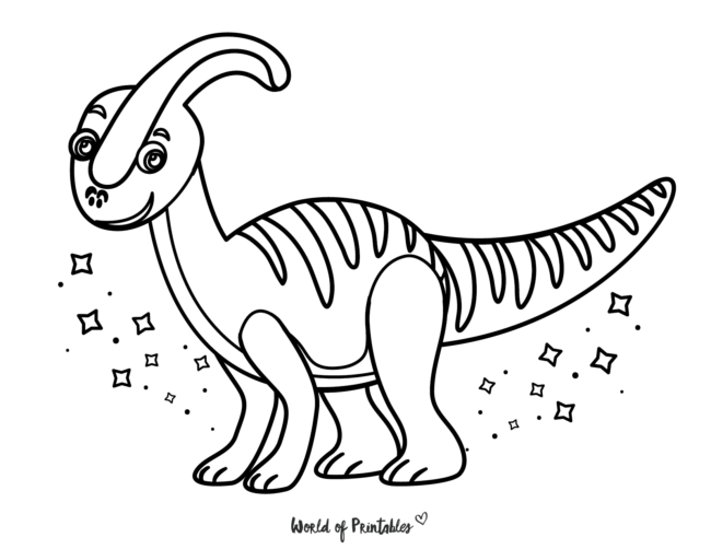 Dinosaur Coloring Pages - 18