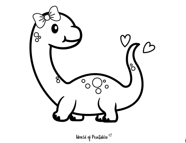 Dinosaur Coloring Pages - 29
