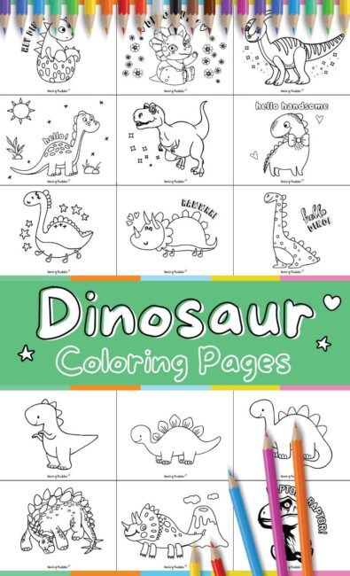 Dinosaur Coloring Pages - 50 Best Dino Coloring Sheets