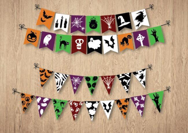 Fun Halloween Flags