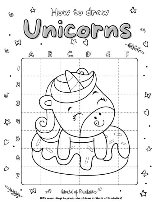 How To Draw Unicorns 04