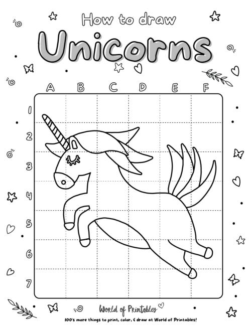 How To Draw Unicorns 07