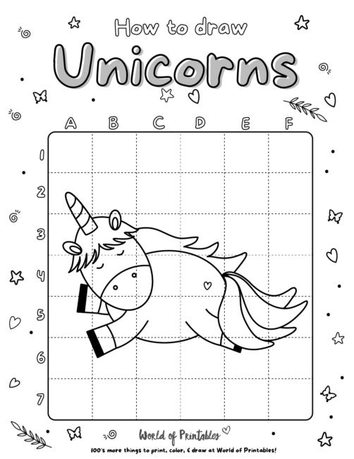 How To Draw Unicorns 08