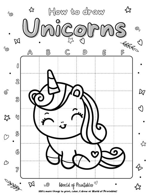 How To Draw Unicorns 09