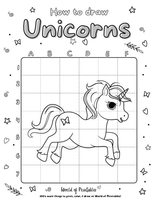 How To Draw Unicorns 10