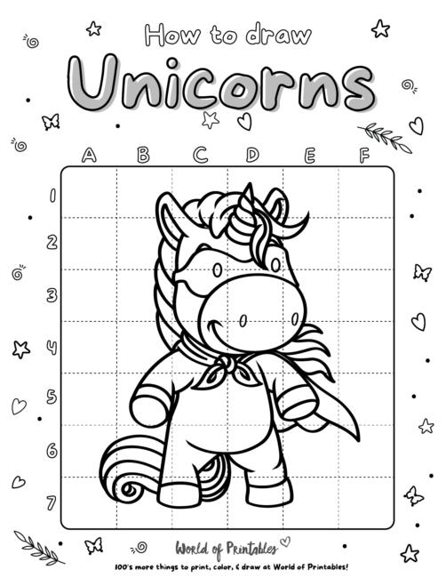 How To Draw Unicorns 12