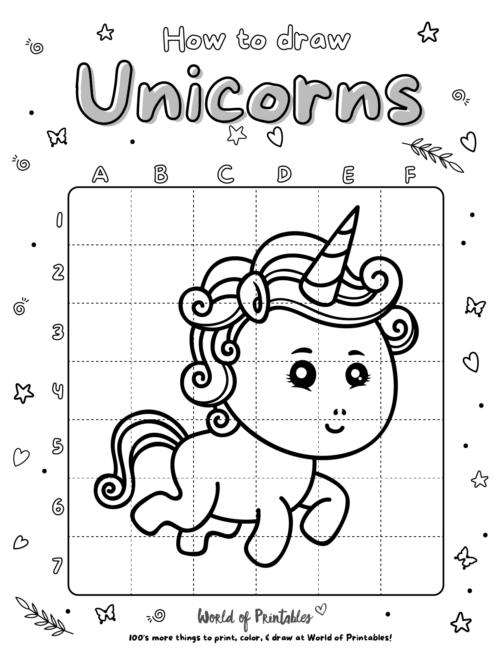 How To Draw Unicorns 13