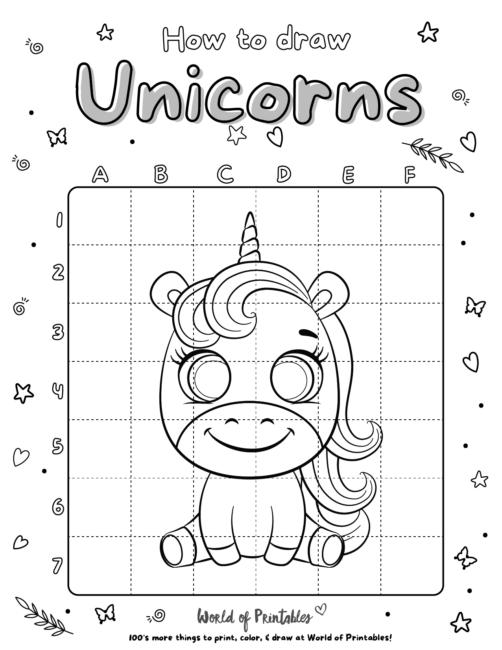 How To Draw Unicorns 14