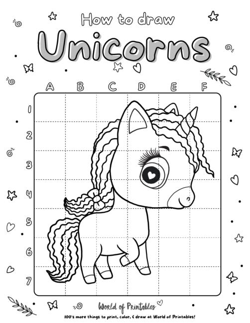 How To Draw Unicorns 15
