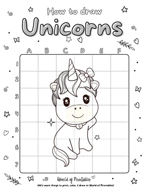 How To Draw Unicorns 17