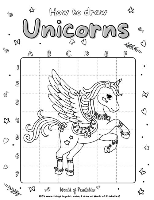 How To Draw Unicorns 19