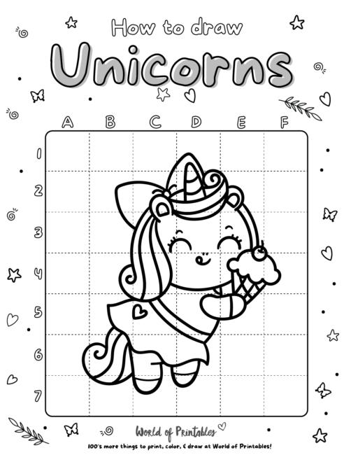How To Draw Unicorns 20