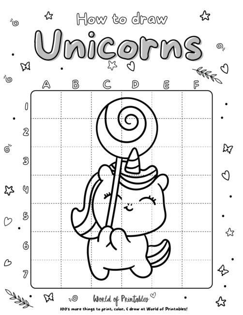 How To Draw Unicorns 21