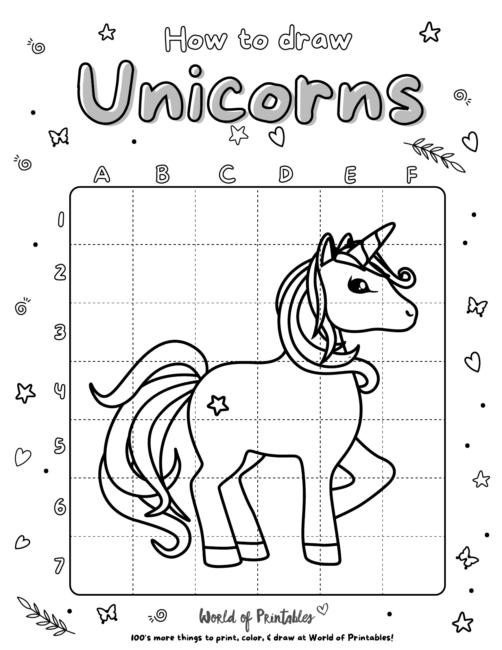 How To Draw Unicorns 22