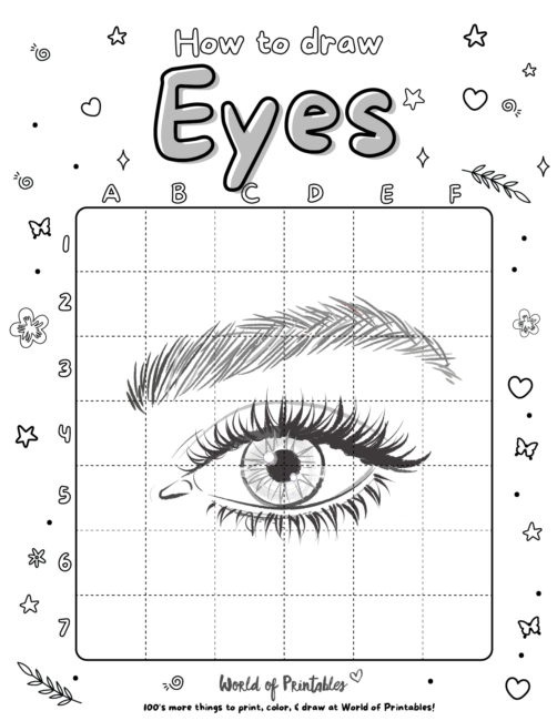 How To Draw a Eyes 2