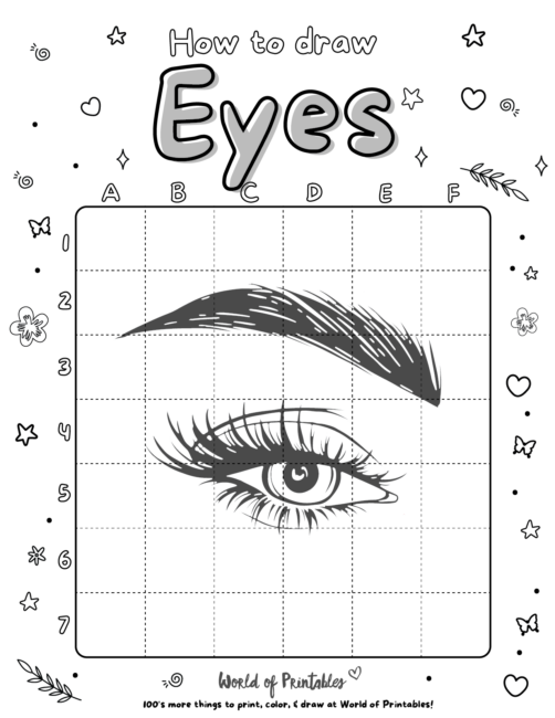 How To Draw a Eyes
