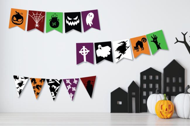 Spooky Halloween Banners