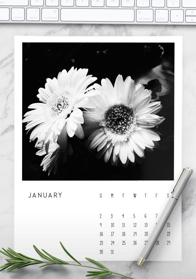 photo calendar 2022 printable