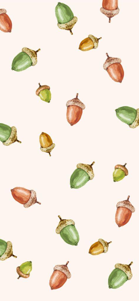 Acorn Fall Wallpaper iPhone
