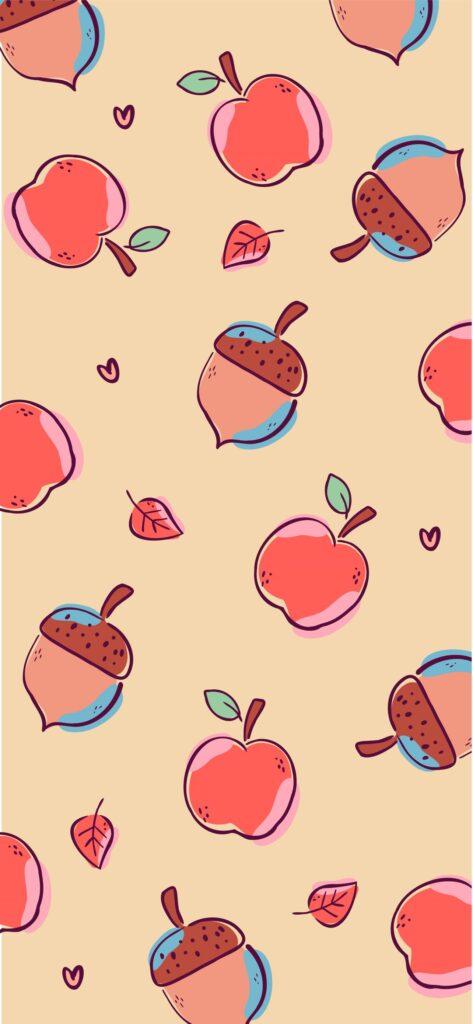 Apple Fall Aesthetic Wallpaper